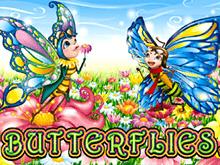 Онлайн слот Butterflies