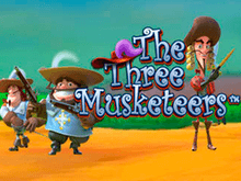 Онлайн слот The Three Musketeers